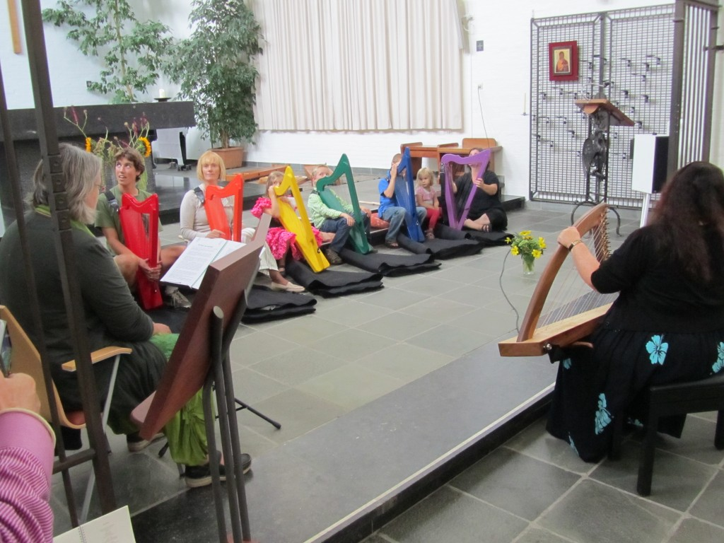 Harp Therapy and Rainbow of Sound Presentation