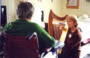 Melanie with patient